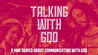 Talking With God Title Slide